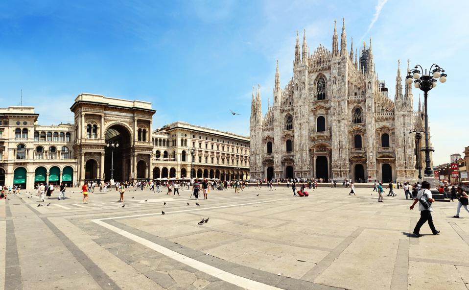 Cathedral of Milan Galleria Vittorio Emanuele II