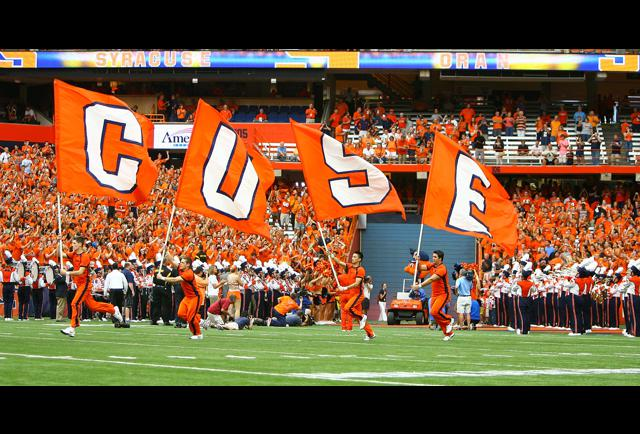 Syracuse Undergoes A Massive Upgrade With Unveiling Of New Football Uniforms