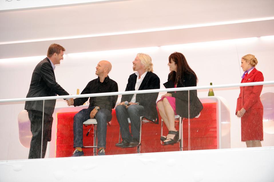 Virgin Atlantic Airways And Sir Richard Branson Bring Business Speed Dating To Wall Street