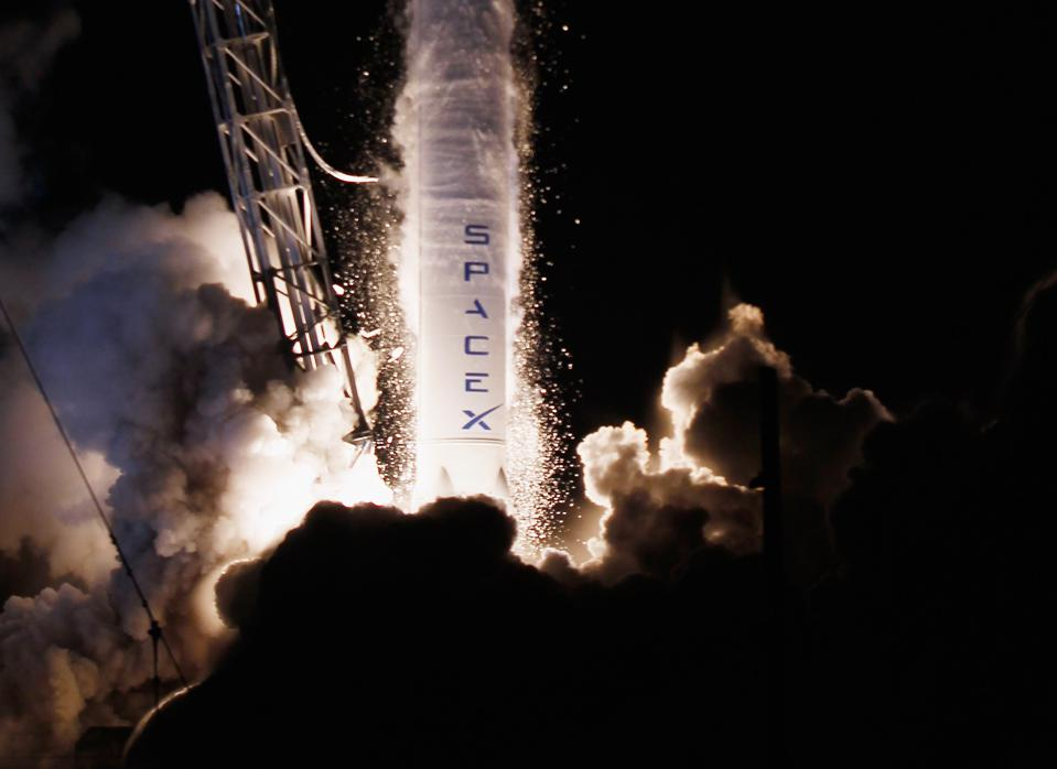 SpaceX Launches Dragon Spacecraft For Mission To International Space Station