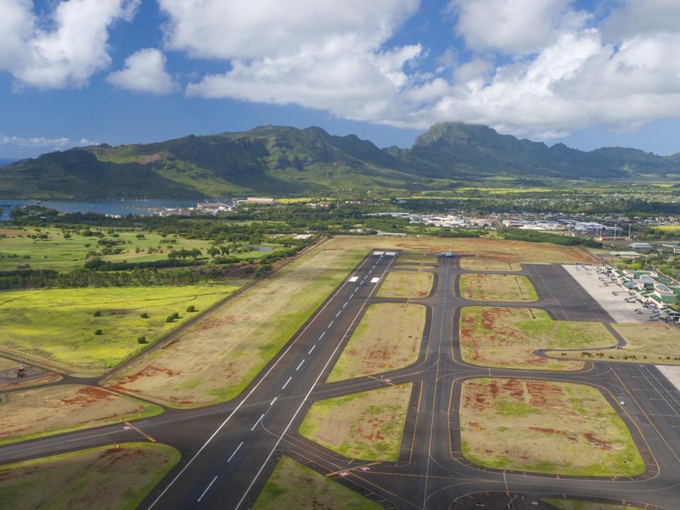 Lihue Airport of Kauai, Hawaii