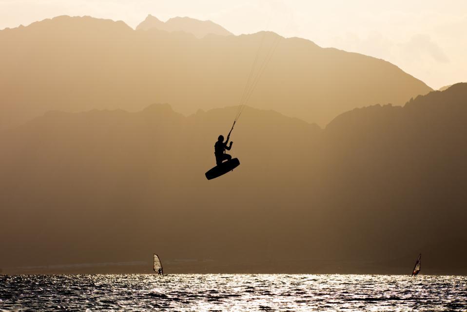 Kiter jump