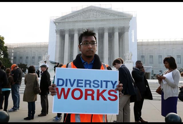 society debated as supreme court split on affirmative action decision