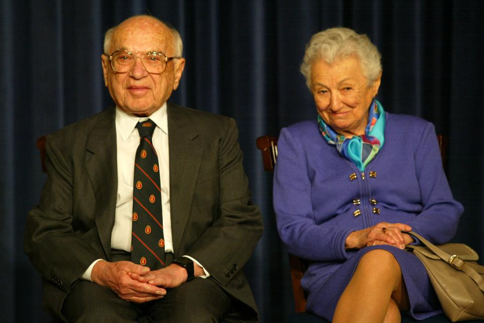 Milton Friedman's Name Disappears From Foundation, But His ...