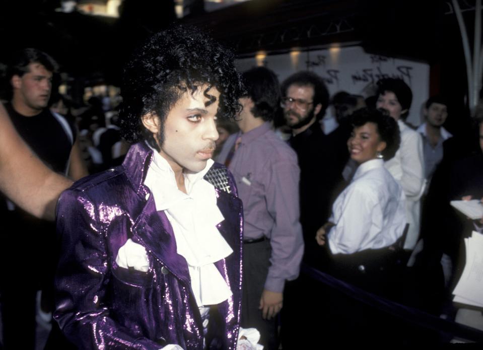 Premiere of ″Purple Rain″