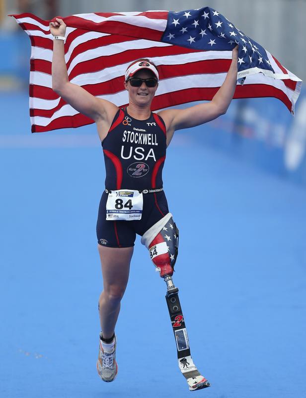 Melissa Stockwell @ ParaTriathlon World Championship