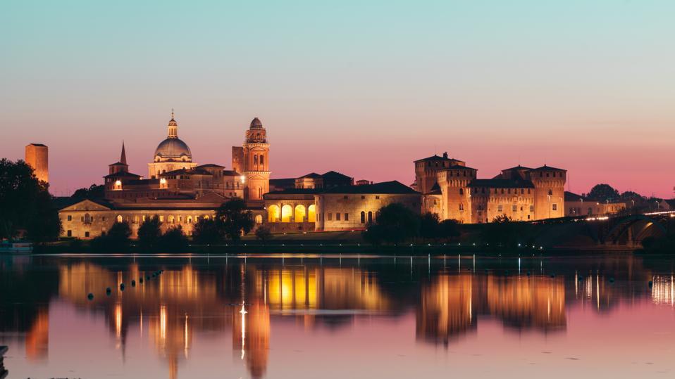 Archaeology Mantova Twilight