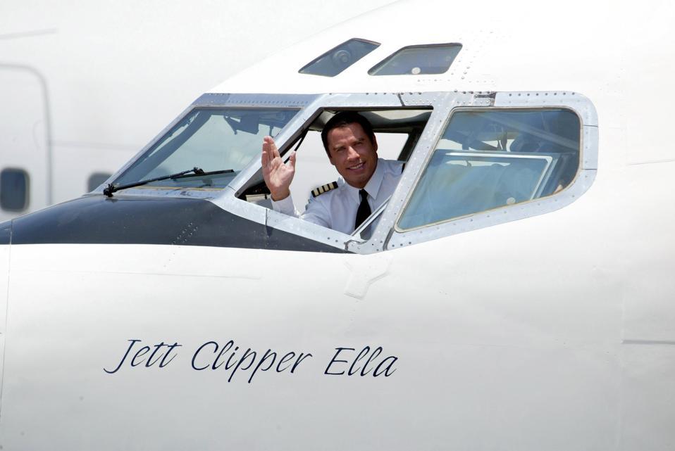 John Travolta jet