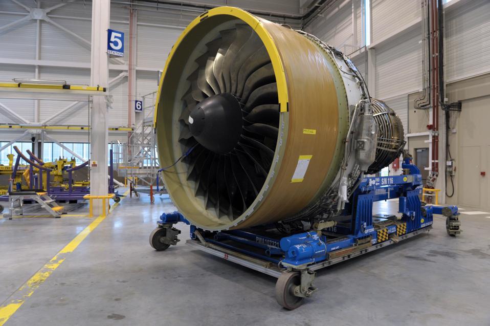FRANCE-TRANSPORT-AVIATION-AIR FRANCE-ENGINE