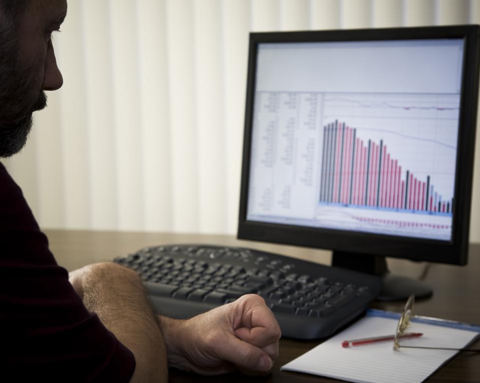 Bear Market - declining stocks and recession