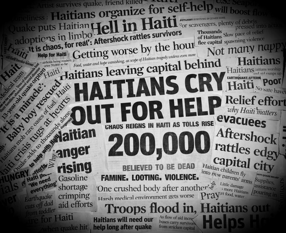 Haiti maavärina pealkirjad