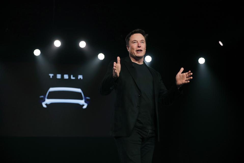 Tesla Bets On Market For Electric Pickup Trucks