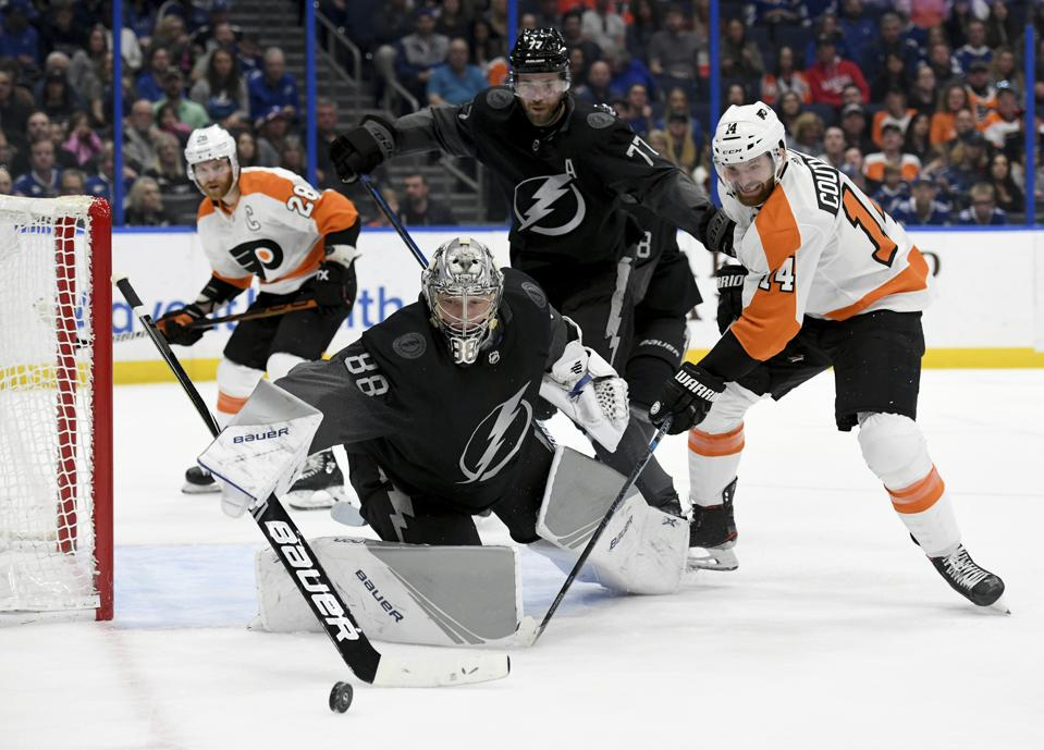 Tampa Bay Lightning Winning With Great Goal Goaltending, Responsible Play