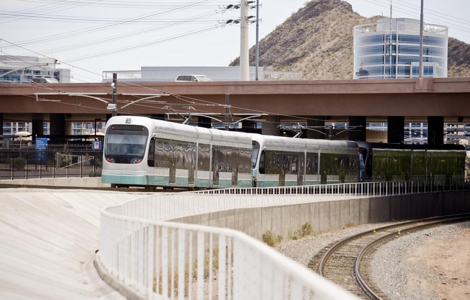 Phoenix Metro Light-Rail Train