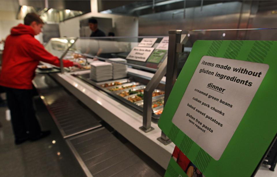 Gluten-Free Zone At Northeastern University