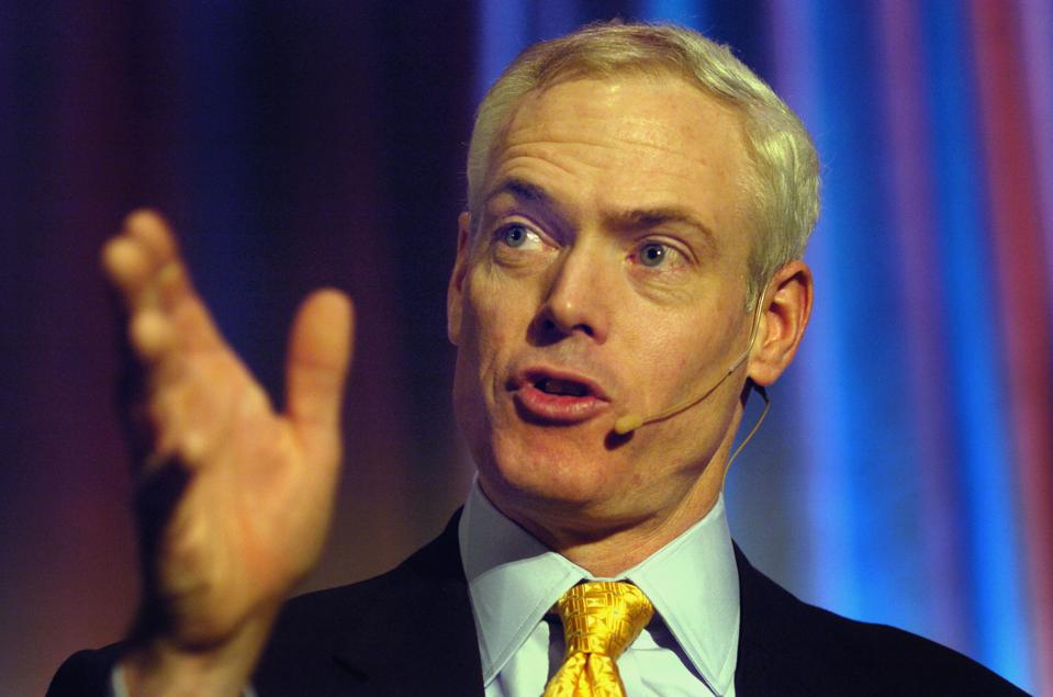 DENVER, CO (05-11-2006) -- Jim Collins, who wrote the bestselling book about business ″Good to Great,″ spoke at the Interagency Council on Homelessness in Denver Thursday morning. The council reports that homelessness is decreasing across the nation. (DEN