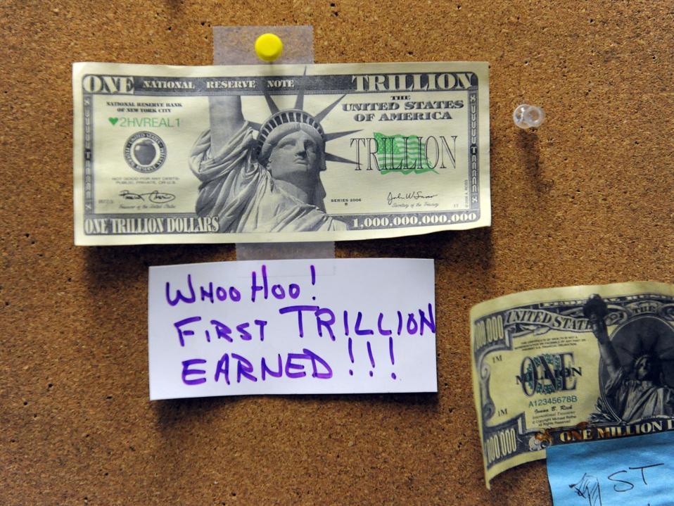stimulus checks, bailout, money, coronavirus, COVID-19, dollar, trillion, image