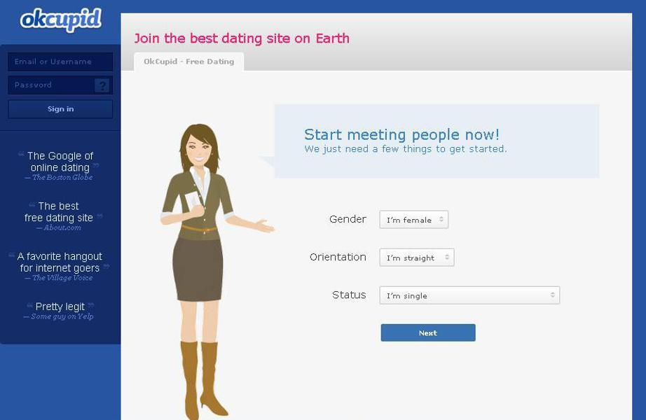 Okcupid online dating