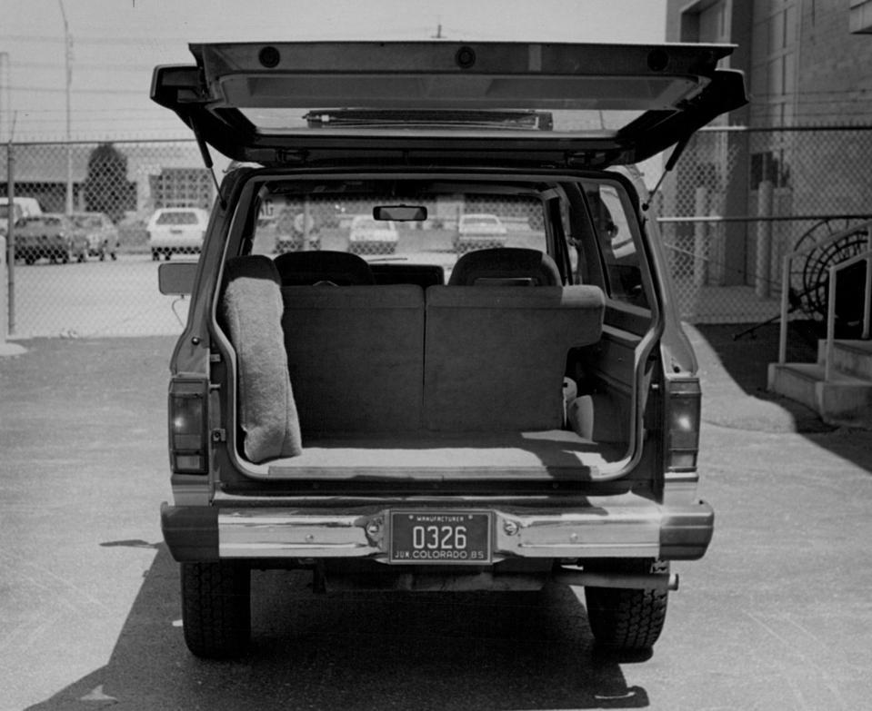JUL 3 1985, JUL 6 1985; Ford Motor Company. Bronco II.;
