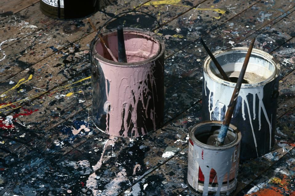 In Pollock's Studio