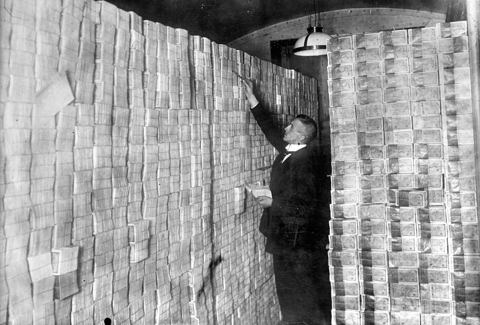 Basement Of Banknotes