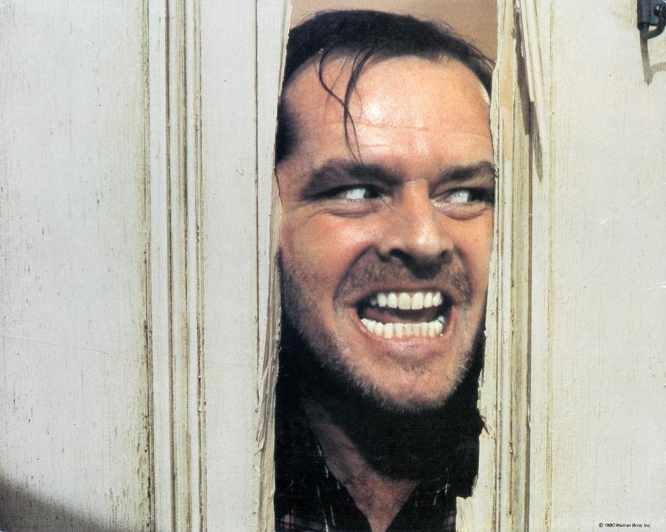 Jack Nicholson In 'The Shining'