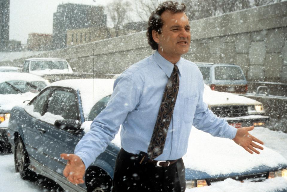 Bill Murray In 'Groundhog Day'