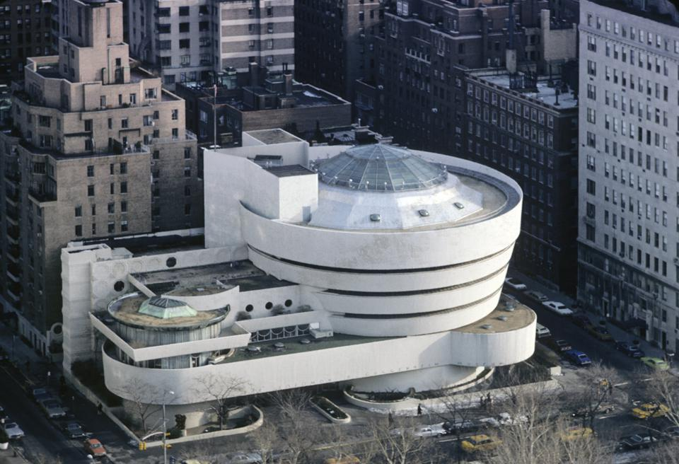 Aerial View Of The Guggenheim Museum
