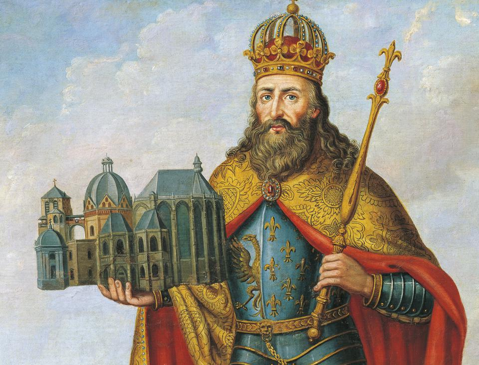 Portrait of Charlemagne...