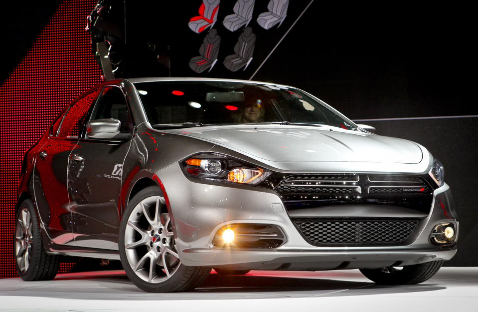 The new 2013 Dodge Dart at The North American International Auto Show (NAIAS) 2012 Cobo Hall January