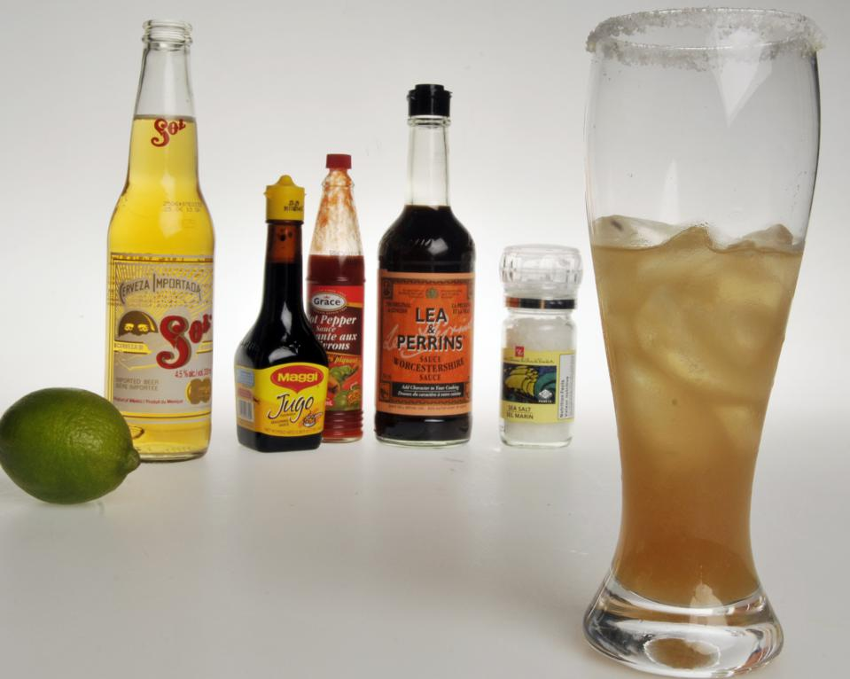 Michelada.Mexican mixed beer drink. Sarah Dea/Toronto Star.