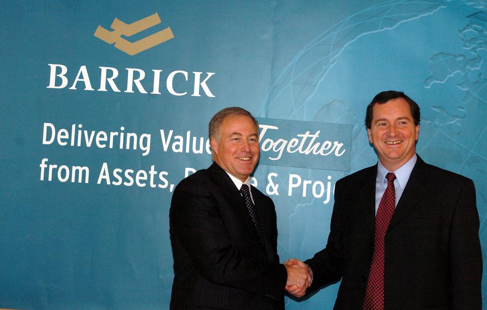 BARRICK- 12/22/05 - Canada's two biggest gold miners announced a merger to create the world's number