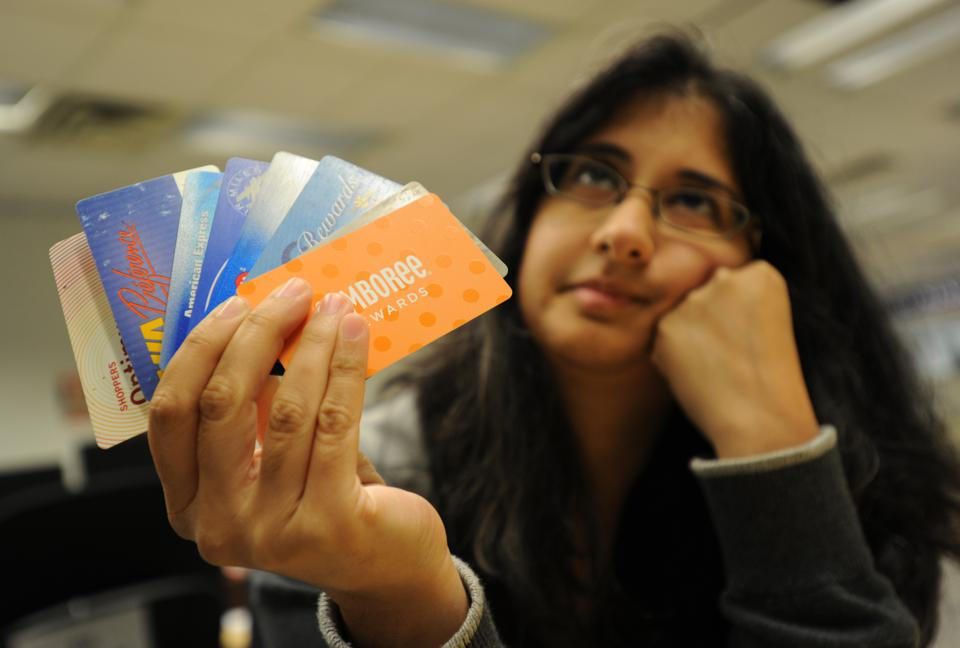 A credit and loyalty card makeover for Madhavi Acharya to get rid of unwanted cards and help her get