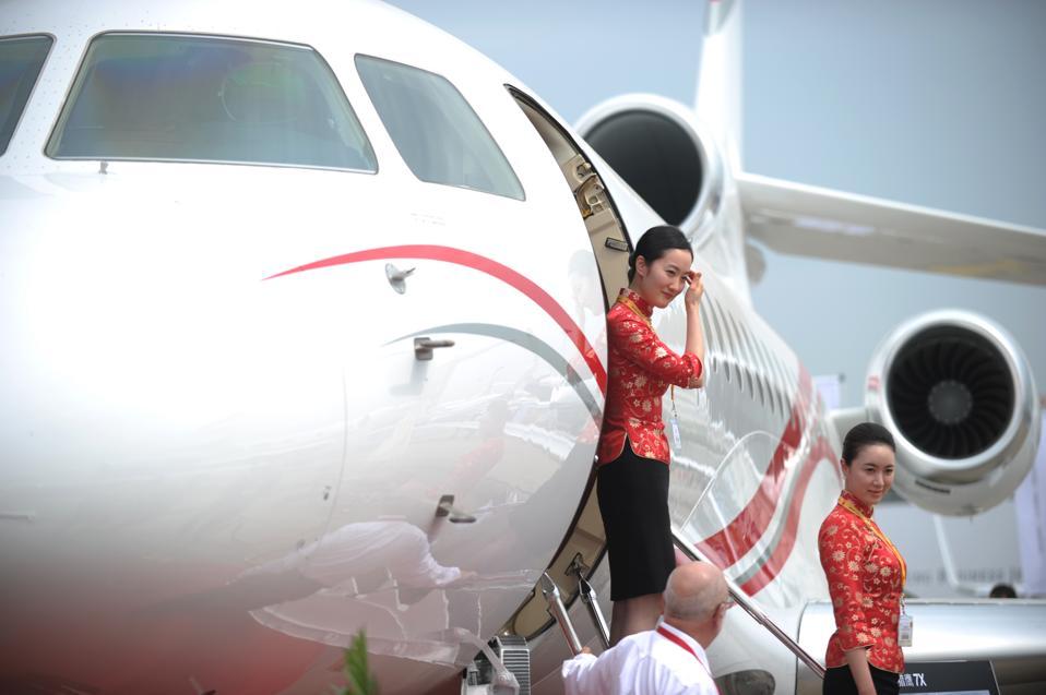 CHINA-ECONOMY-BUSINESS-AIRCRAFT-EXPO