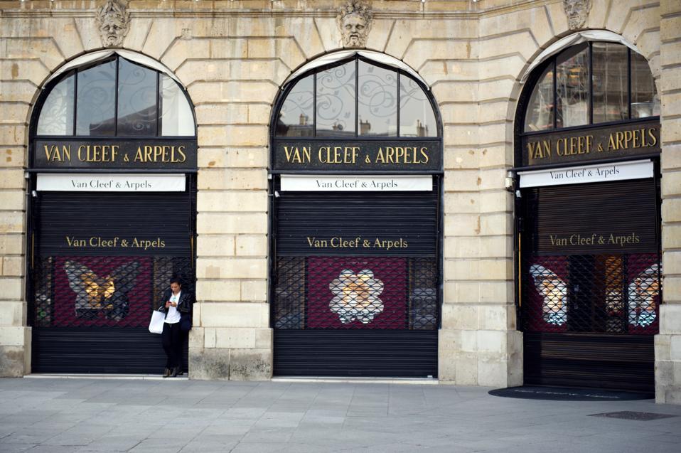 Van Cleef & Arpels on Place Vendôme, Paris