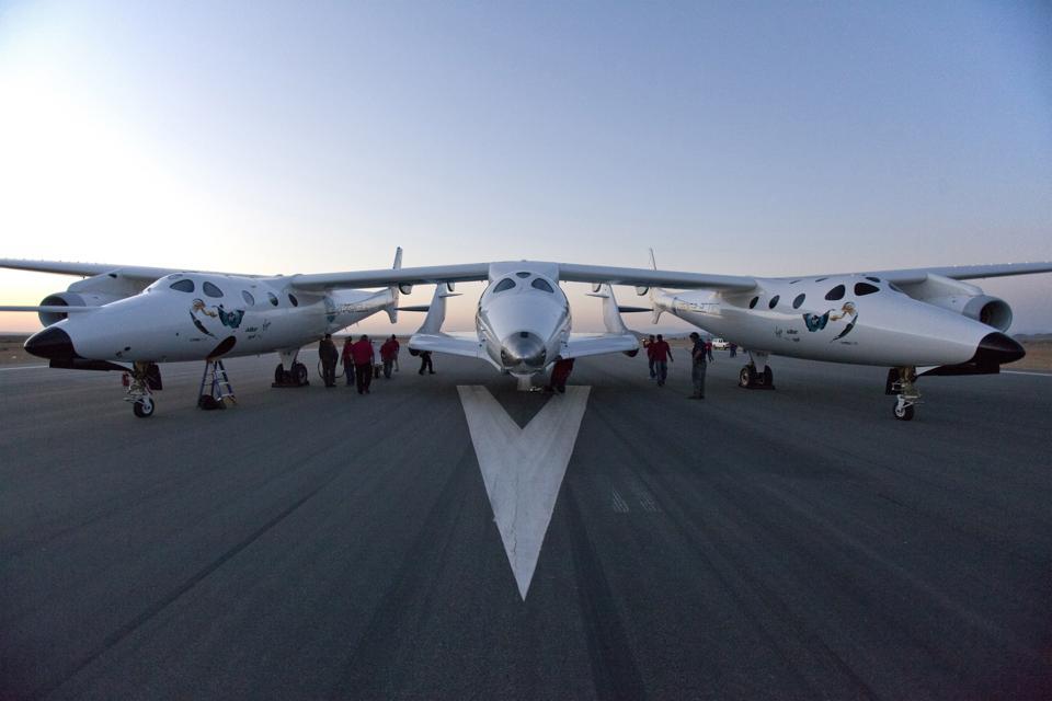 Virgin Galactic SpaceShip2 Test Flight