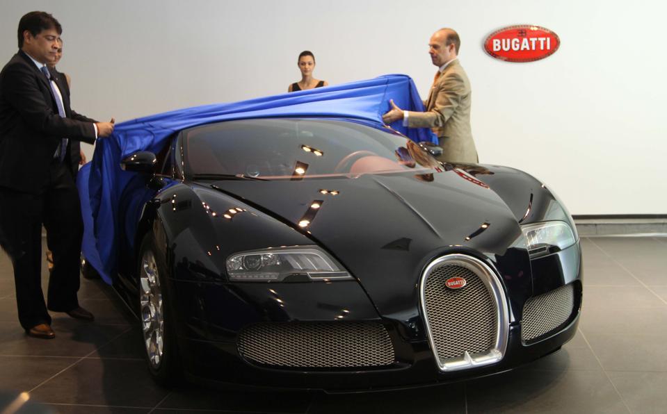 Launch Of Bugatti Veyron 16.4 Grand sports car