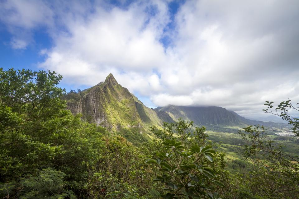Pali Lookout Oahu Hawaii