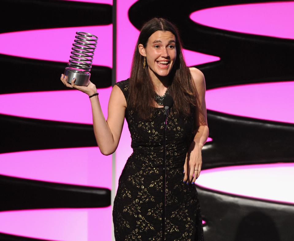 Aria Finger at the 17th Annual Webby Awards
