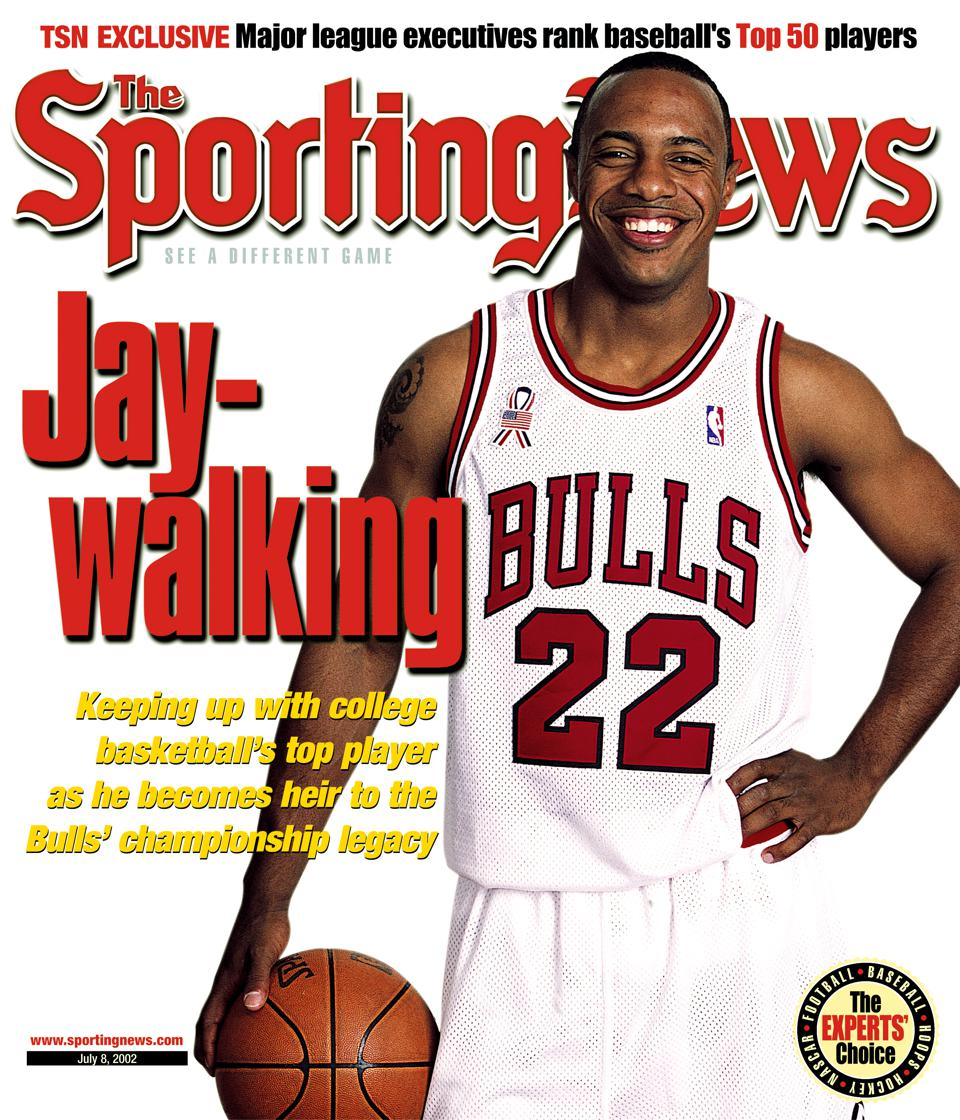 Jay Williams circa 2002, with the Chicago Bulls.