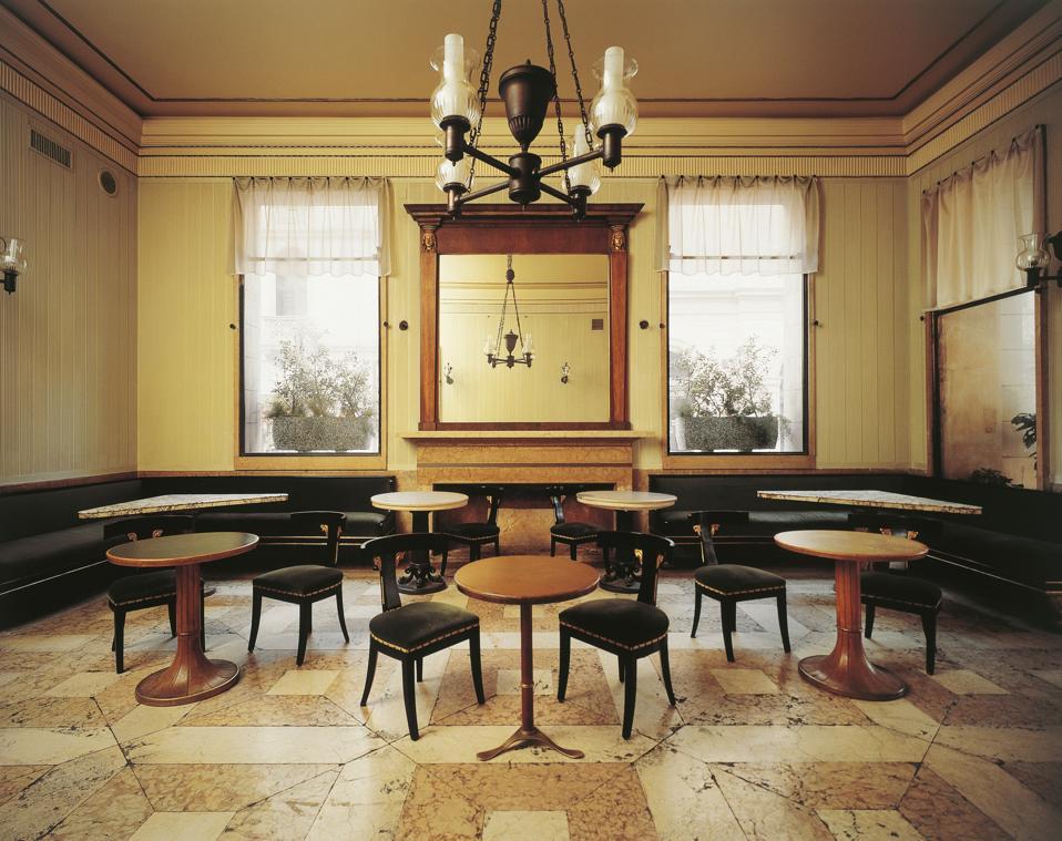 Interior of Caffe' Pedrocchi Padua