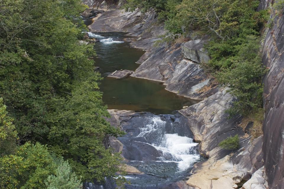 Tallulah Gorge in North Georgia, US