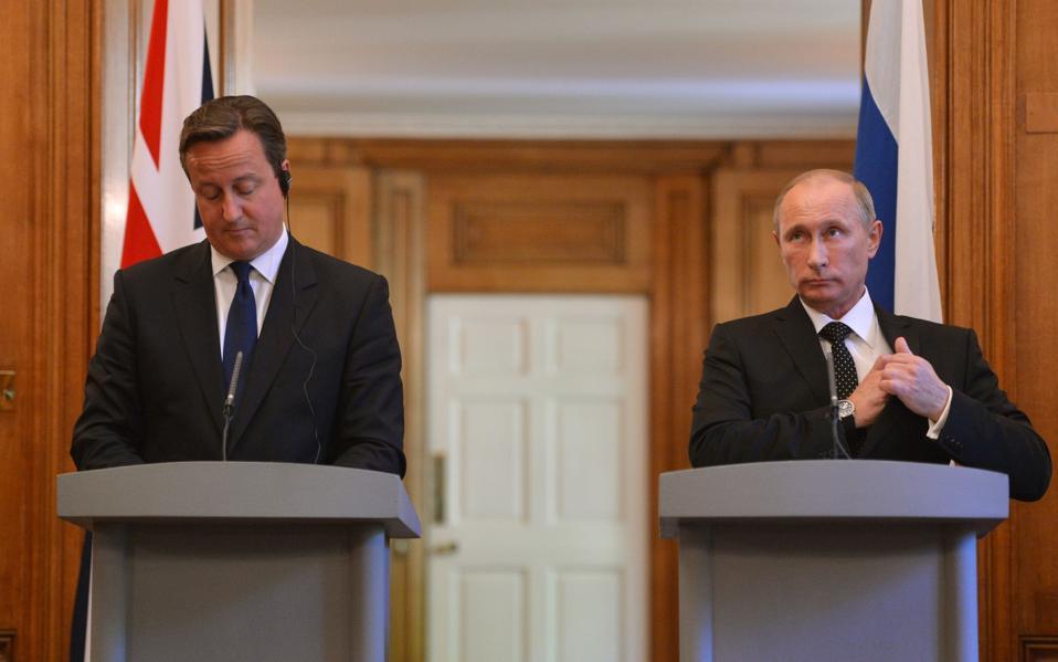 Putin in London