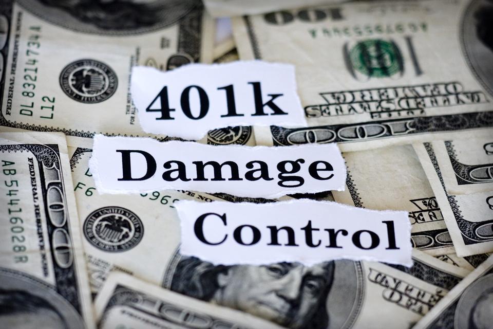 401k Damage Control