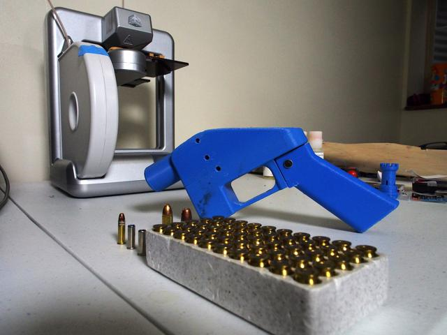 Are Blueprints For 3d Printed Guns Protected Speech