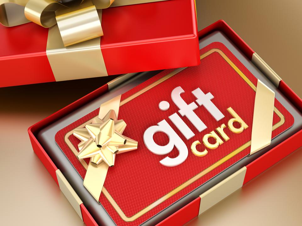 The pandemic may lead to a significant increase in gift cards, especially digital ones.