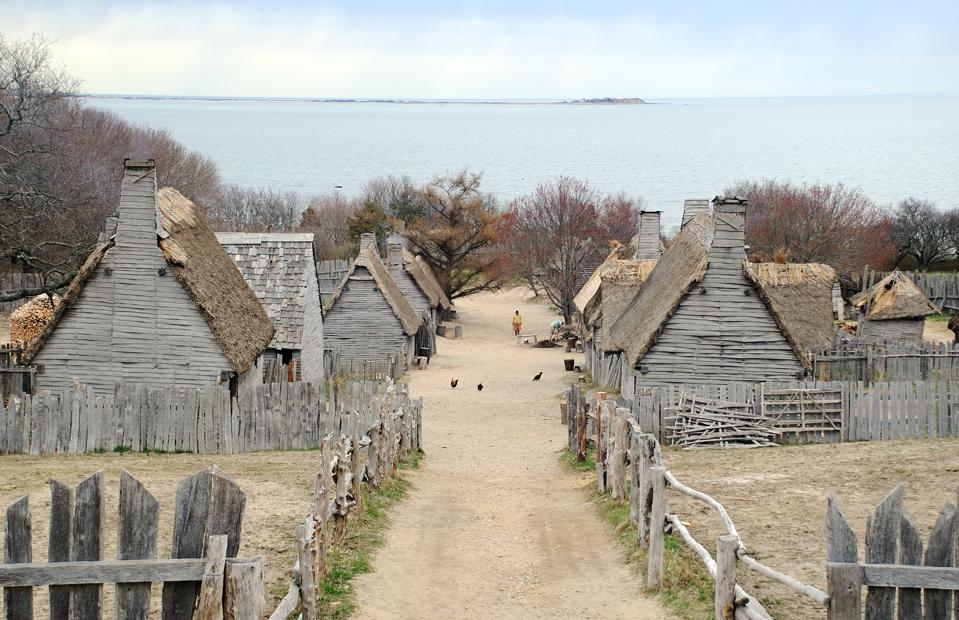 Pilgrims Settlement Plymouth, Massachusetts
