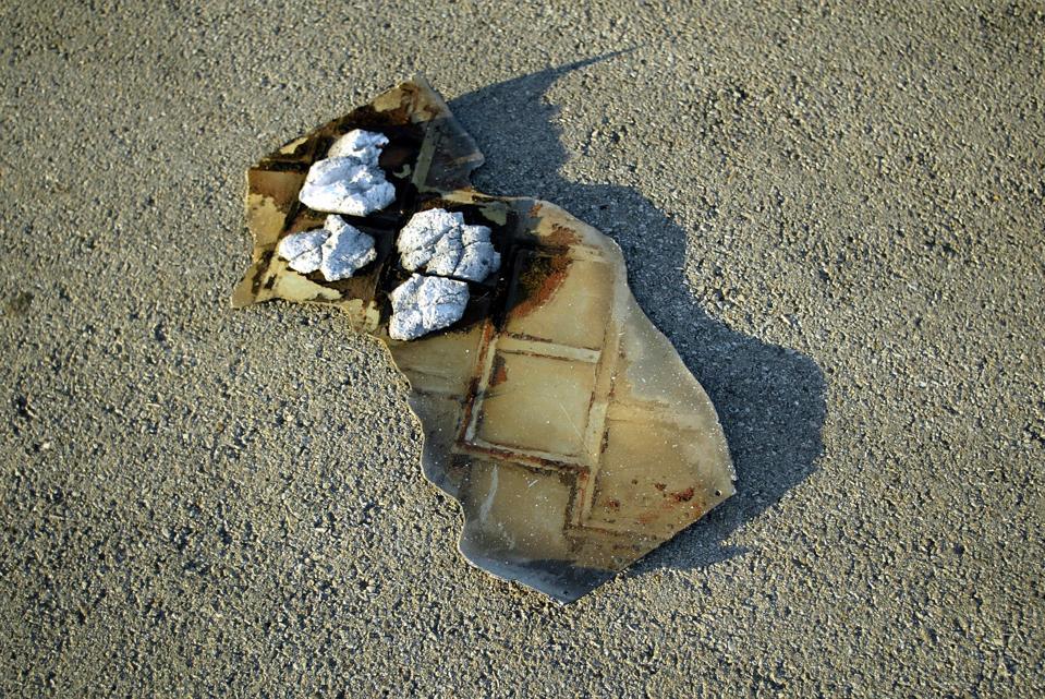 Shuttle Debris Found In Texas