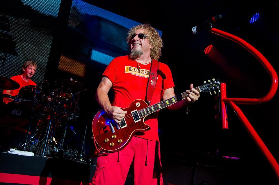 Sammy Hagar Four Decades Of Rock With Michael Anthony
