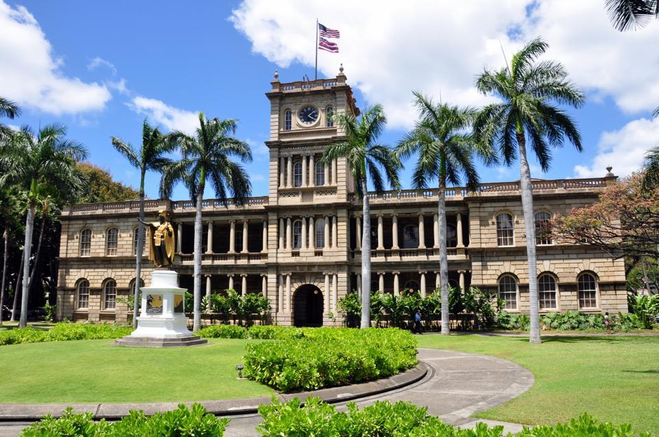 Iolaniho palác, Oahu, Havaj